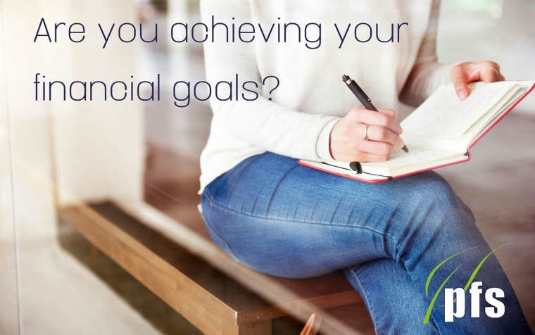 Are you achieving your financial goals?