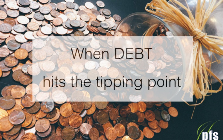 When DEBT hits the tipping point